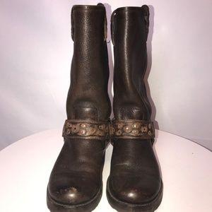 Frye Women's Harness Mid-Calf Boots - Size 7